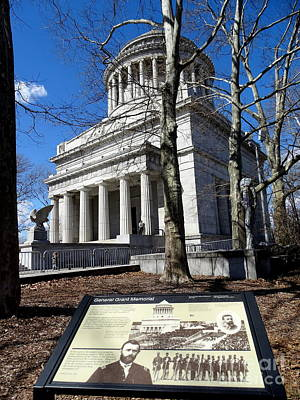 Photograph - General Grant Memorial by Ed Weidman