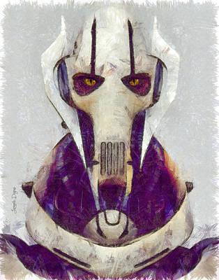 General Grievous Digital Art - General Grievous - Da by Leonardo Digenio