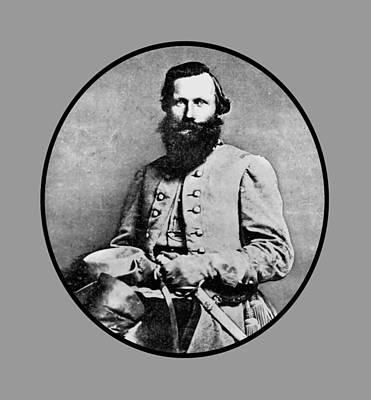 General Jeb Stuart Art Print