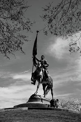 Photograph - General John Logan Monument by John McArthur