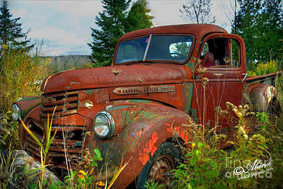 Art Print featuring the photograph General Motors Truck by Alana Ranney
