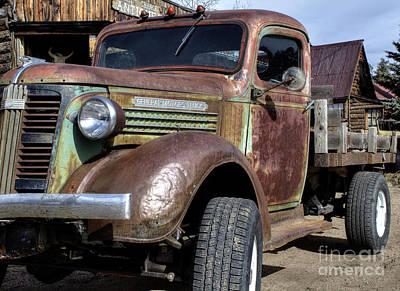 Photograph - General Motors Truck by Steven Parker
