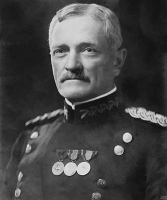 Military Hero Digital Art - General Pershing by War Is Hell Store