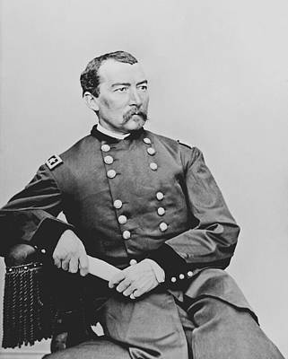 Civil War Photograph - General Phil Sheridan by War Is Hell Store