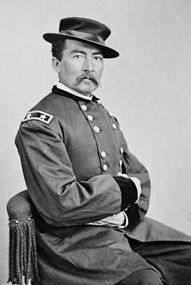 American Civil War Photograph - General Philip Sheridan - Union Civil War by War Is Hell Store