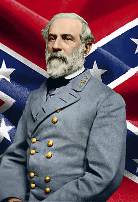 Robert E Lee Painting - General Robert E. Lee by William Mace