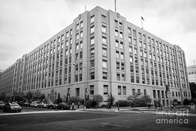 Nca Photograph - General Services Administration Nca Building Washington Dc Usa by Joe Fox