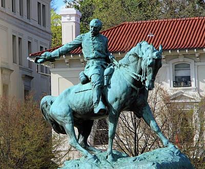Photograph - General Sheridan At Sheridan Circle by Cora Wandel