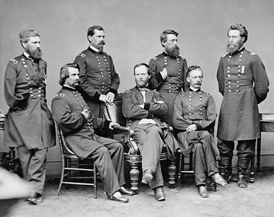 Mick Jagger - General Sherman and His Staff  by War Is Hell Store
