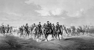 Animals Drawings - General Sherman At Savannah Georgia by War Is Hell Store