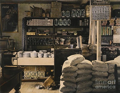 Photograph - General Store, 1936 by Granger