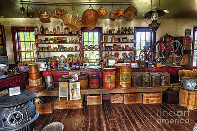 Photograph - General Store Alive by Joann Long