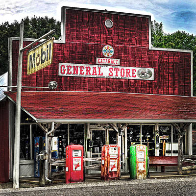 General Store Cataract In. Art Print