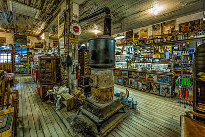 Photograph - General Store by Erwin Spinner