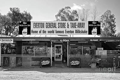 Photograph - General Store, Everton by Linda Lees
