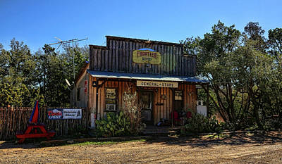 Photograph - General Store Near Fredericksburg Texas by Judy Vincent