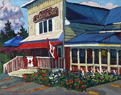 Rockport Painting - General Store by Phil Chadwick