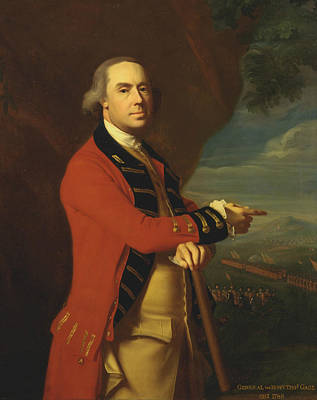 Painting - General Thomas Gage  by John Singleton Copley