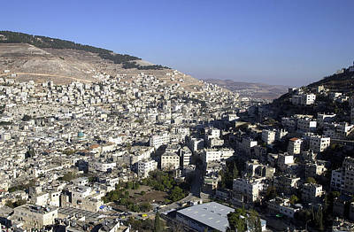 Photograph - General View Of Nablus 2 by Isam Awad