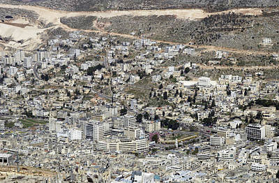 Photograph - General View Of Nablus 4 by Isam Awad