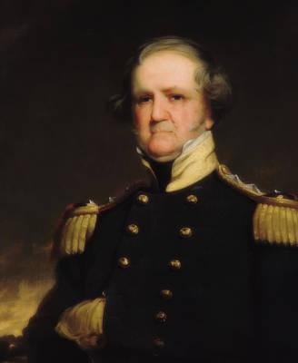 Painting - General Winfield Scott by Robert Weir