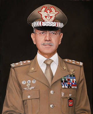 Portraits Royalty-Free and Rights-Managed Images - Generale Danilo Errico by Guido Borelli