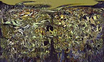 Digital Art - Generated Chaos by Linda Sannuti