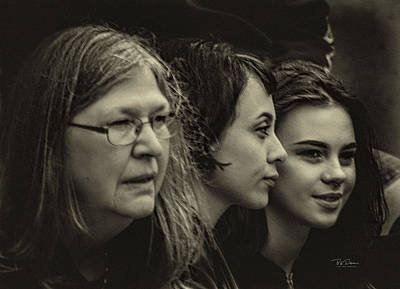 Photograph - Generations by Bill Posner