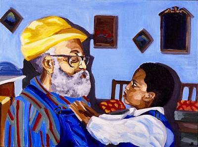 Bonding Painting - Generations by Jodye  Beard-Brown