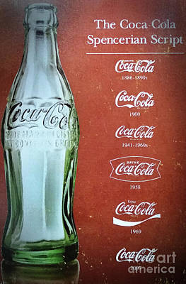 Mixed Media - Generations Of Coca Cola by David Millenheft