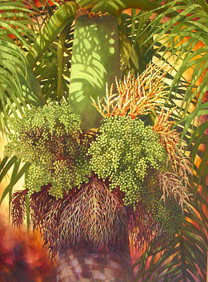 Generations Palm Art Print by Monica Linville