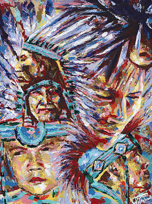 Painting - Generations by Tyrone Whitehawk