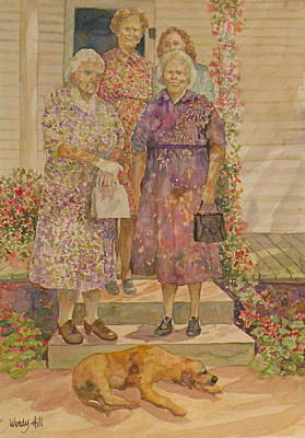 Generations Art Print by Wendy Hill