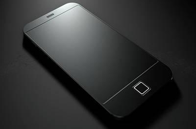 Generic Modern Smart Phone Art Print