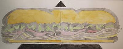 Generic Sub Art Print by William Douglas