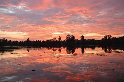 Photograph - Generous Color Sunrise by rd Erickson