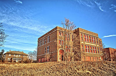 Photograph - Geneseo School by Bonfire Photography