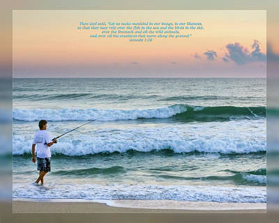 Photograph - Genesis 1 26 by Dawn Currie