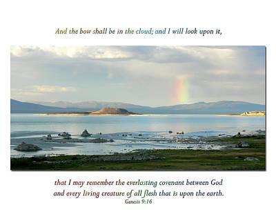 Genesis 9 Verse 16 Art Print