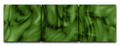 Genesis - A Limited Edition 1 Of 1, Enviro Green In Color, Abstract Impressionist, Conceptual Multi  Original