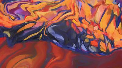 Painting - Genesis by Dan Sproul