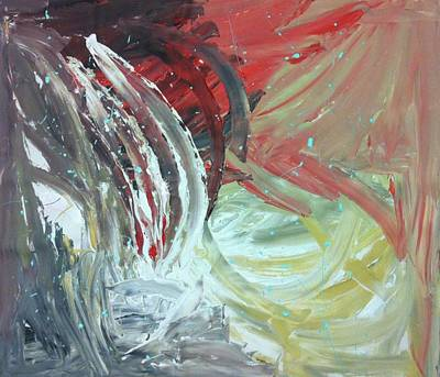 Analog Painting - Genesis Uno by Tanya Johnston
