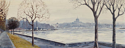 Painting - Geneva by Robert Foster