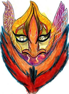 Pastel - Genie by Roger Hanson