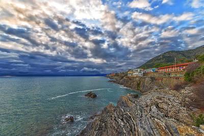 Photograph - Genova Nervi Ex Ristorante Marinella  Luoghi Abbandonati Abandoned Places by Enrico Pelos