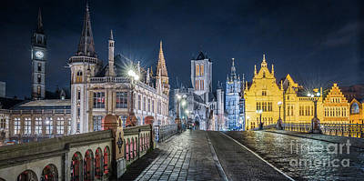 Photograph - Gent At Night by JR Photography