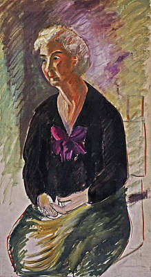 Drawing - Gentille Femme by Phyllis Hanson Lester