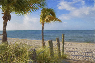 Photograph - Gentle Breeze At The Beach by Kim Hojnacki