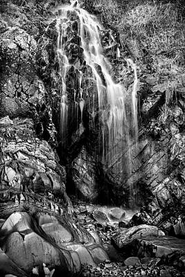 Photograph - Gentle Cascade by David Hare