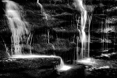 Photograph - Gentle Falls - 2981 by Paul W Faust - Impressions of Light